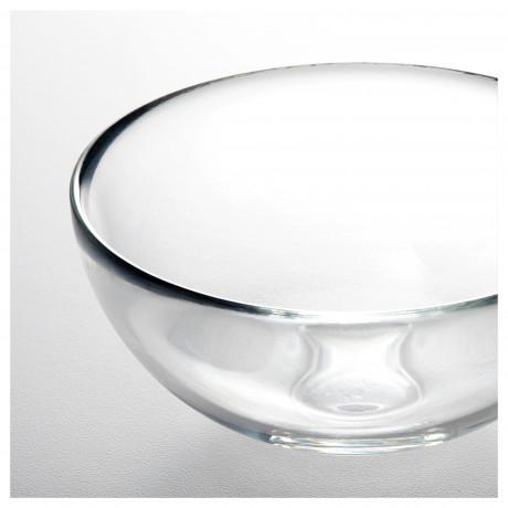 Сервировочная миска БЛАНДА прозрачное стекло фото 4