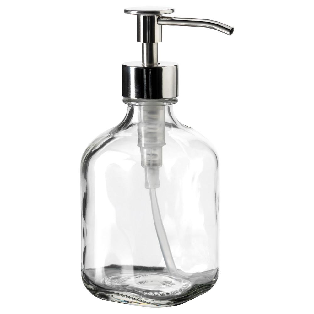 Дозатор для моющего средства БЕСТОЭНДЕ прозрачное стекло  фото 1