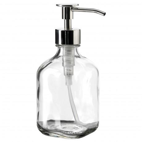 Дозатор для моющего средства БЕСТОЭНДЕ прозрачное стекло фото 3