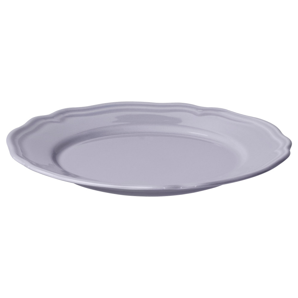 Десертная тарелка АРВ сиреневый, фаянс  фото 1