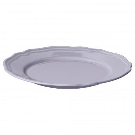 Десертная тарелка АРВ сиреневый, фаянс фото 3