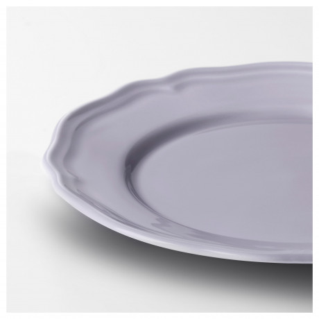Десертная тарелка АРВ сиреневый, фаянс фото 4