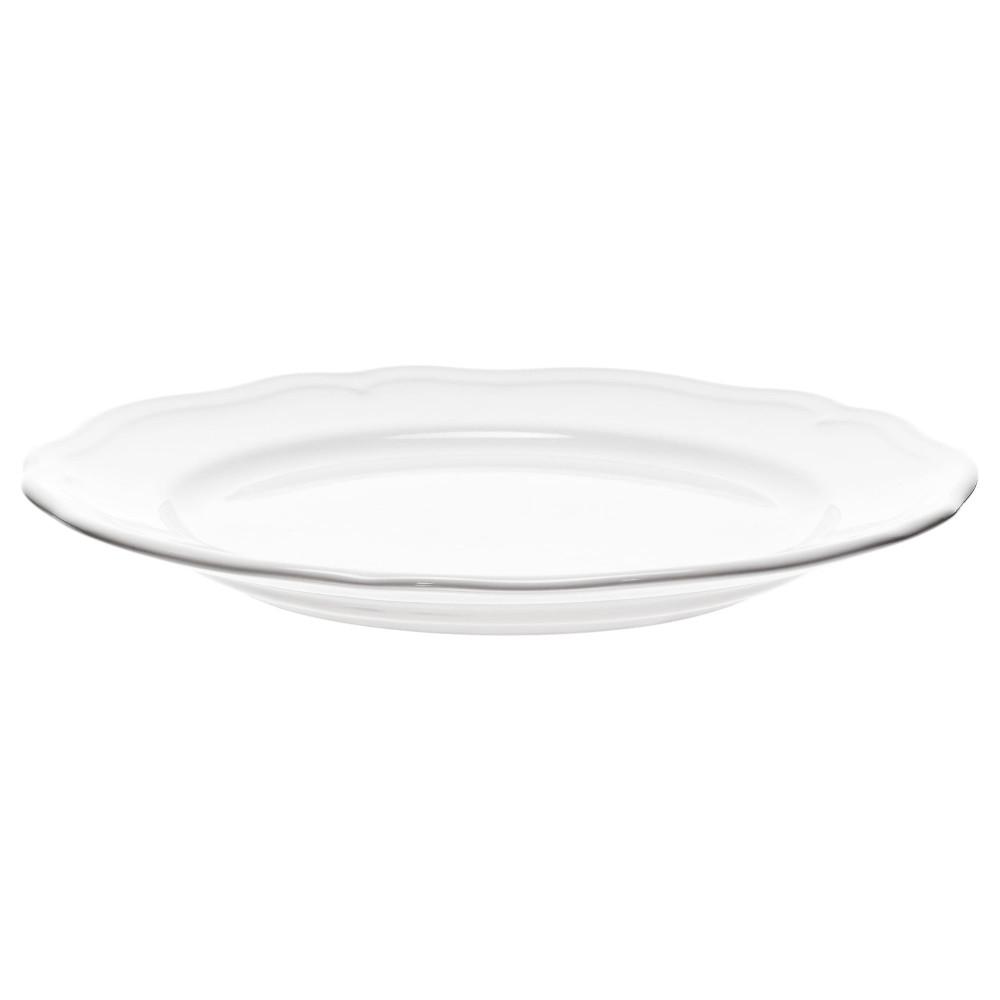 Десертная тарелка АРВ белый  фото 1