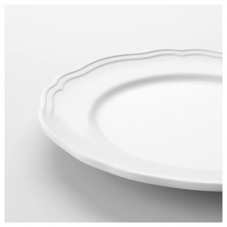 Десертная тарелка АРВ белый фото 5