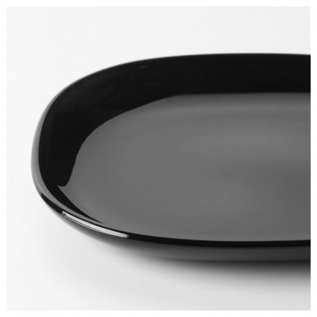 Тарелка десертная БАККИГ черный фото 5