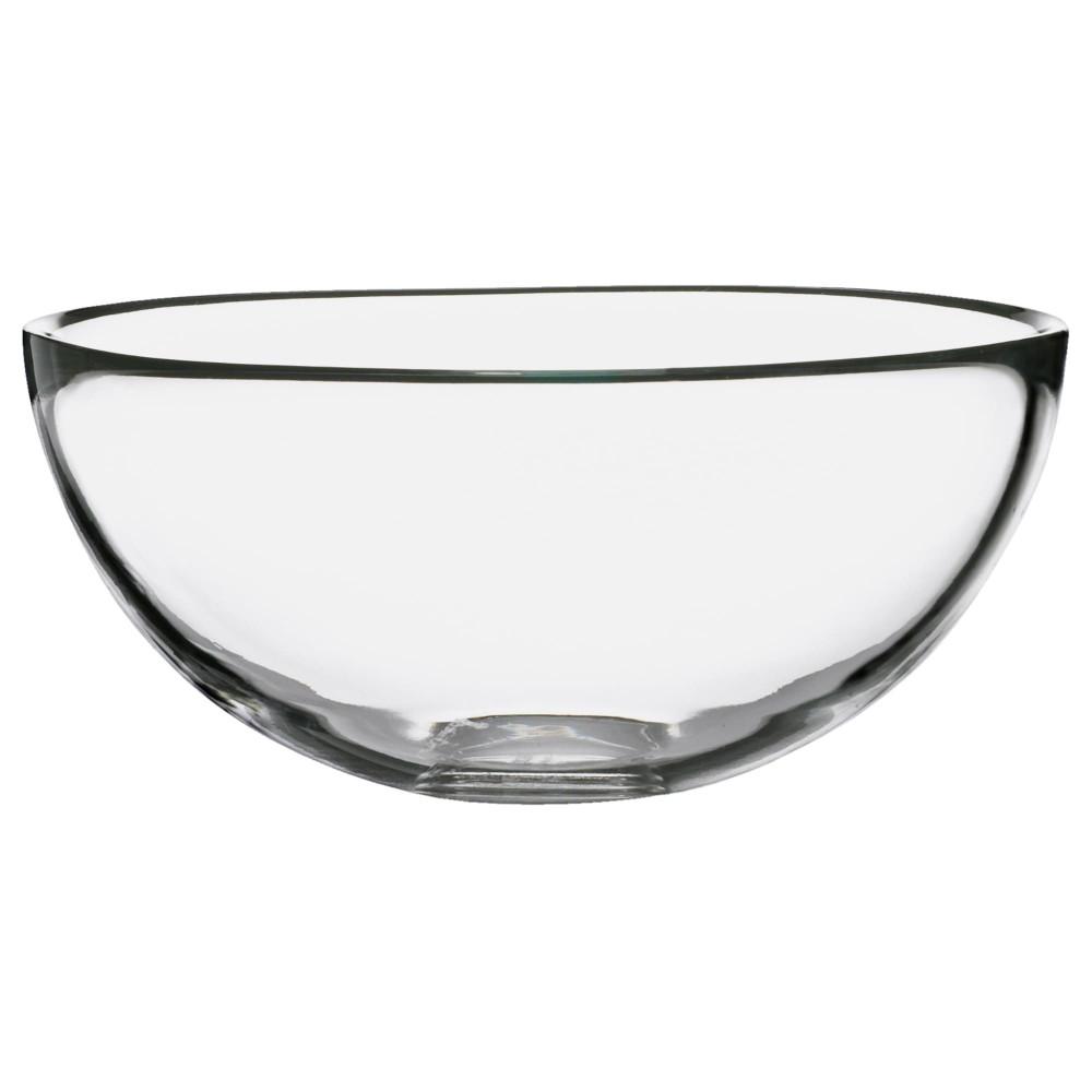 Сервировочная миска БЛАНДА прозрачное стекло  фото 1