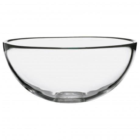 Сервировочная миска БЛАНДА прозрачное стекло фото 3