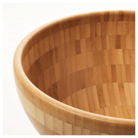 Сервировочная миска БЛАНДА МАТТ бамбук фото 5