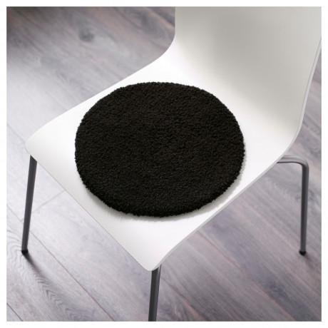Подушка на стул БЕРТИЛЬ черный фото 4
