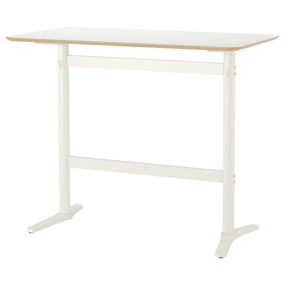 Барный стол БИЛЬСТА белый, белый  фото 1
