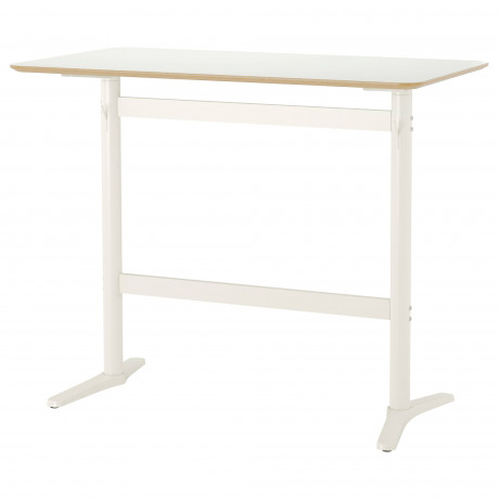 Барный стол БИЛЬСТА белый, белый фото 3