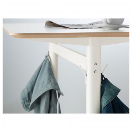 Барный стол БИЛЬСТА белый, белый фото 4
