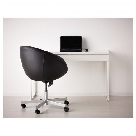 Письменный стол БЕСТО БУРС глянцевый белый фото 4