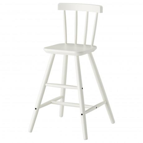 Детский стул АГАМ белый фото 3