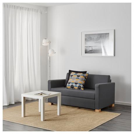 Диван-кровать 2-местный СОЛЬСТА Ранста Норсбру темно-серый фото 4