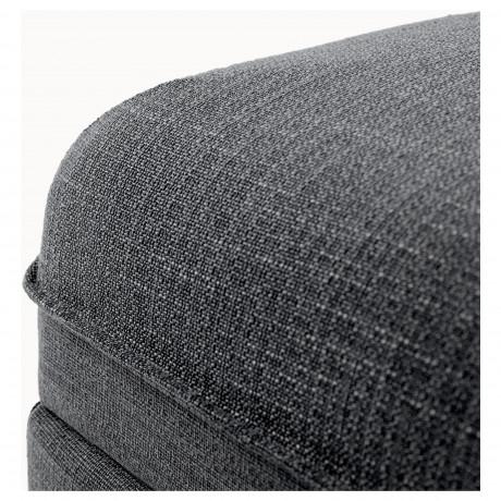 Секция дивана ВАЛЛЕНТУНА Хилларед темно-серый фото 4