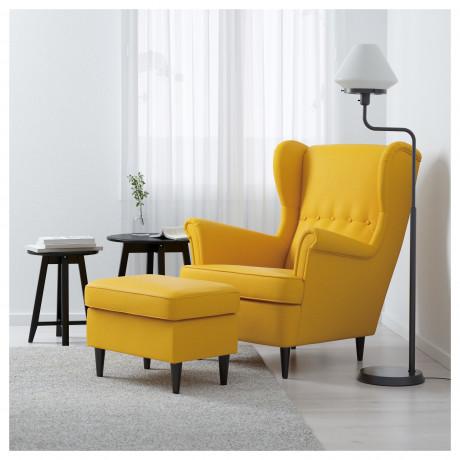 Кресло с подголовником СТРАНДМОН Шифтебу желтый фото 4