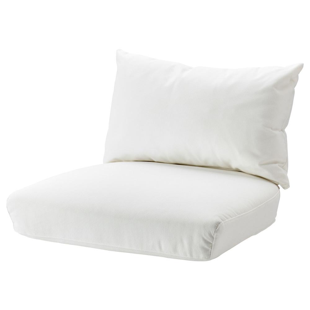 Комплект подушек-сидений н кресло СТОКГОЛЬМ 2017 Рёстонга белый  фото 1