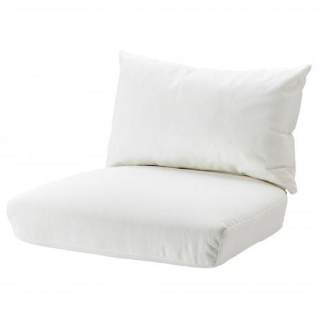 Комплект подушек-сидений н кресло СТОКГОЛЬМ 2017 Рёстонга белый фото 3