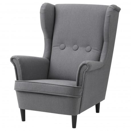 Кресло детское СТРАНДМОН Висле серый фото 3
