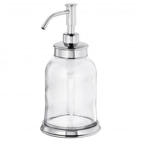 Дозатор для жидкого мыла БАЛУНГЕН хромированный фото 3