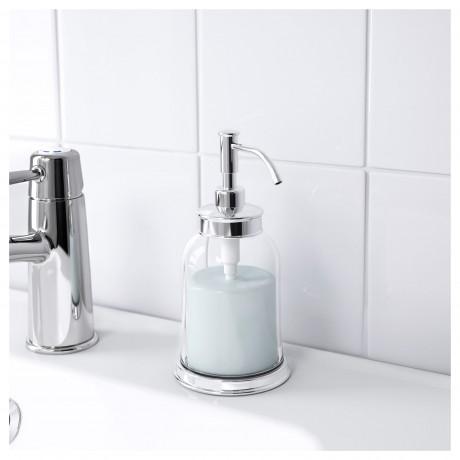 Дозатор для жидкого мыла БАЛУНГЕН хромированный фото 4