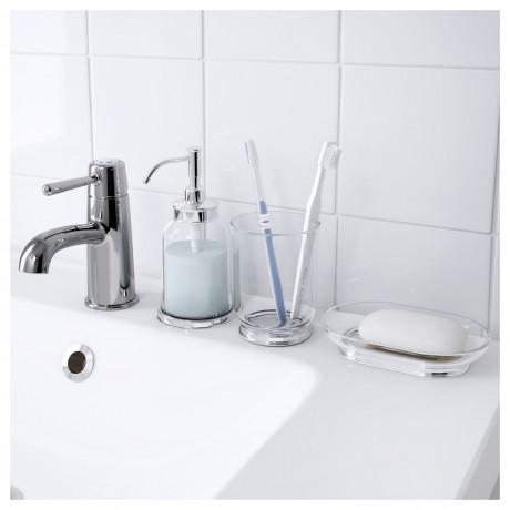 Дозатор для жидкого мыла БАЛУНГЕН хромированный фото 5