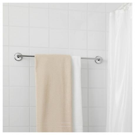 Штанга для полотенца БАЛУНГЕН хромированный фото 4