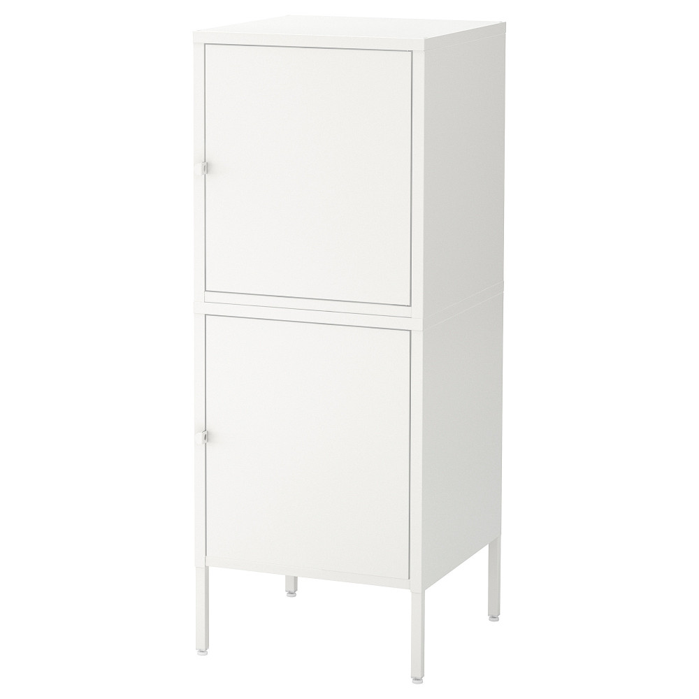 Комбинация для хранения с дверцами ХЭЛЛАН белый  фото 1