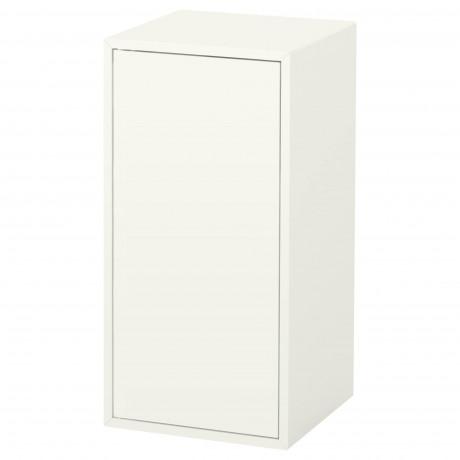 Шкаф с дверцей и 1 полкой ЭКЕТ белый фото 4