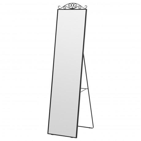 Зеркало напольное КАРМСУНД черный фото 3