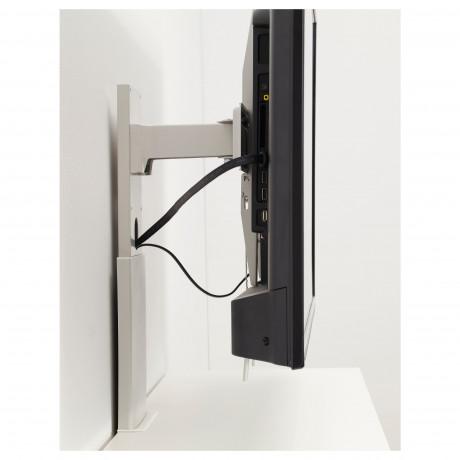 Кронштейн д/ТВ, вращающийся УППЛЕВА светло-серый фото 4