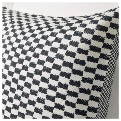 Чехол на подушку ЮППЕРЛИГ черный/белый фото 5
