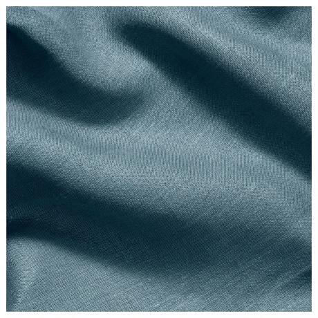 Ткань АЙНА сине-серый фото 4