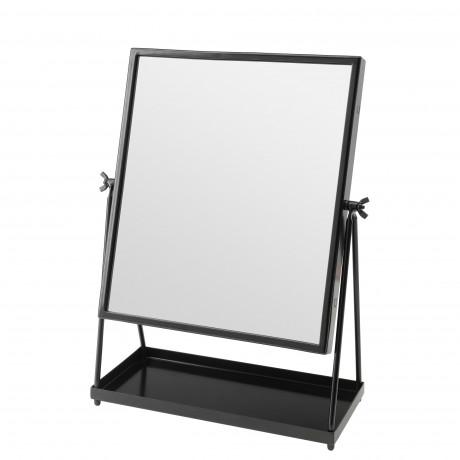 Зеркало настольное КАРМСУНД черный фото 5