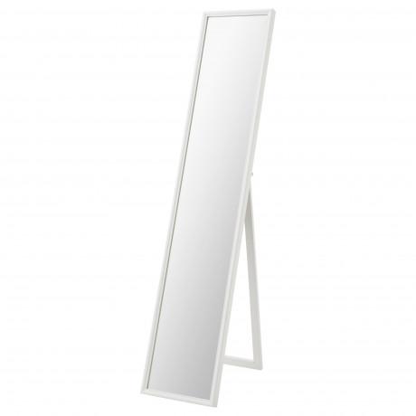 Зеркало напольное ФЛАКНАН белый фото 3