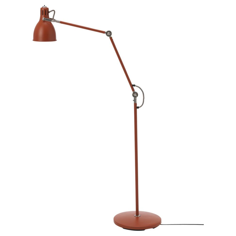 Светильник напольн/для чтения АРЁД красно-коричневый  фото 1