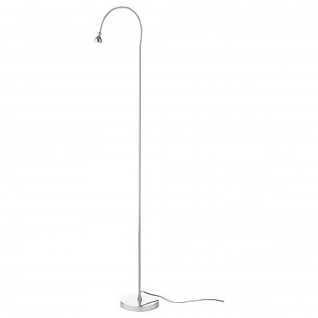 Светильник напольный, светодиодный ЯНШО серебристый фото 3