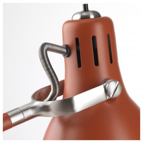 Лампа рабочая АРЁД красно-коричневый фото 5