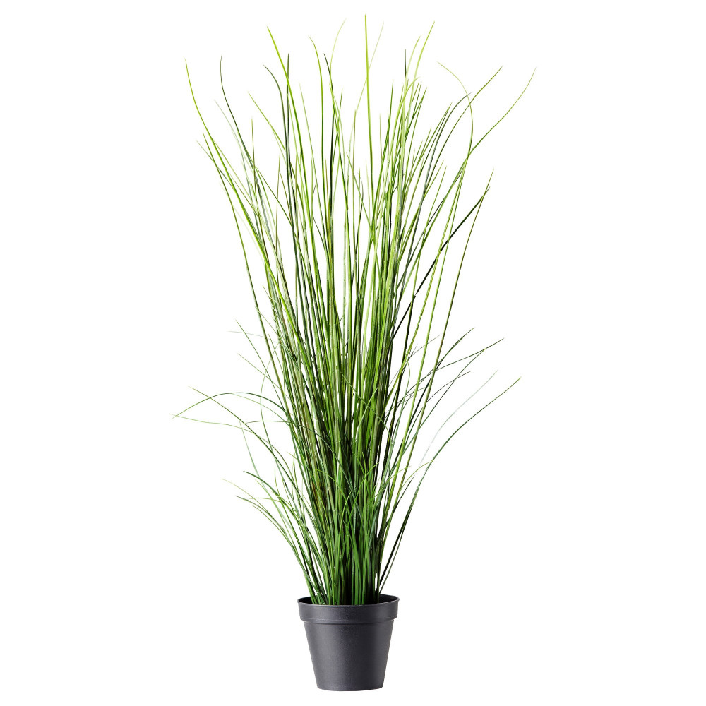 Искусственное растение в горшке ФЕЙКА трава  фото 1
