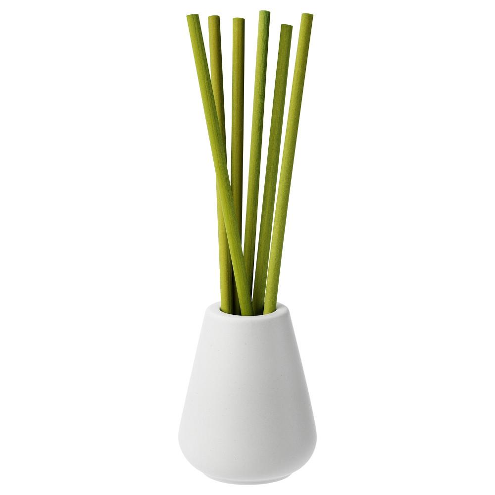 Ваза и 6 ароматических палочек НЬЮТНИНГ Травы, зеленый  фото 1