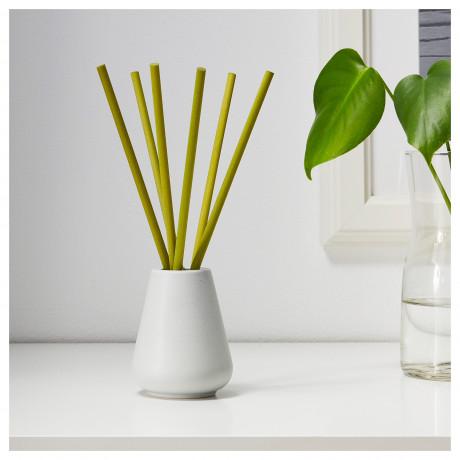 Ваза и 6 ароматических палочек НЬЮТНИНГ Травы, зеленый фото 4
