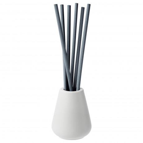Ваза и 6 ароматических палочек НЬЮТНИНГ Цветущий бергамот, серый фото 3