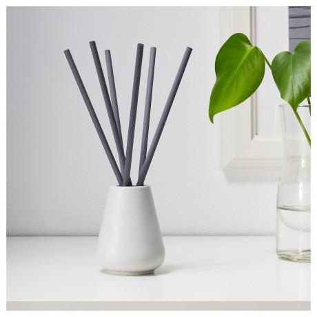 Ваза и 6 ароматических палочек НЬЮТНИНГ Цветущий бергамот, серый фото 4