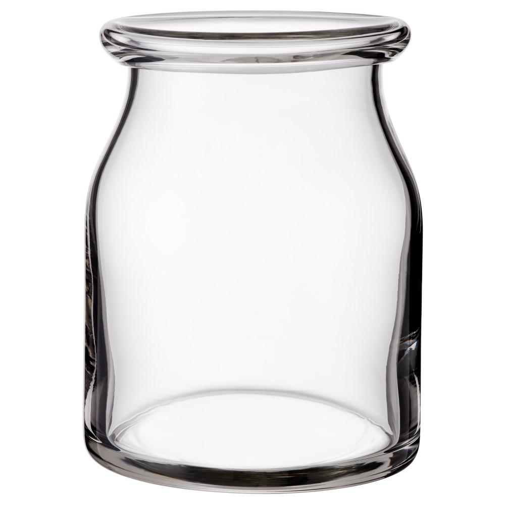 Ваза БЕГЭРЛИГ прозрачное стекло  фото 1