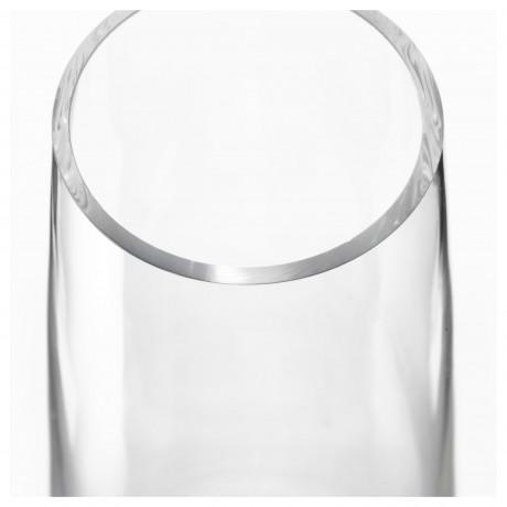 Ваза БЕРЭКНА прозрачное стекло фото 5