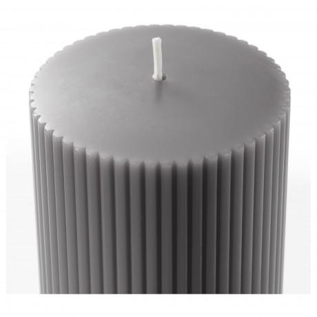 Формовая свеча, ароматическая БЛОМДОРФ Гладиолус, серый фото 5