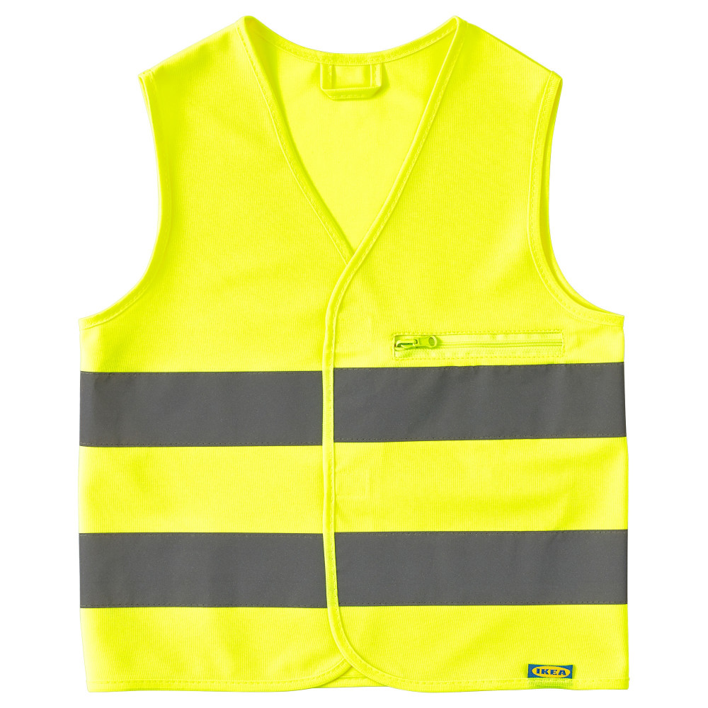 Светоотражающий жилет БЕСКЮДДА XS, желтый  фото 1