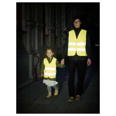 Светоотражающий жилет БЕСКЮДДА XS, желтый фото 4