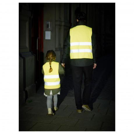 Светоотражающий жилет БЕСКЮДДА XS, желтый фото 5